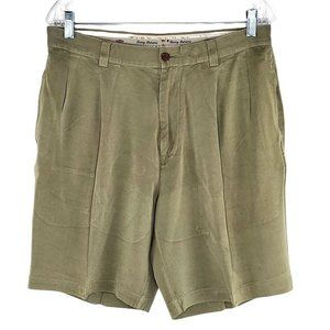 Tommy Bahama Relax Silk Shorts Men's Olive Green S
